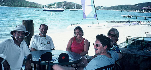 British Virgin Islands Beach Table
