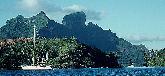 Bora Bora Anchorage